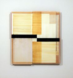 Beeswax, graphite, paper, plywood. Works by Melissa Kretschmer