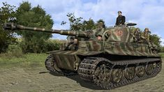 ironfront-westernfront-pc-all-screenshot004-tiger-on-march