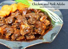 Manila Spoon: Chicken and Pork Adobo