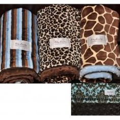 Baby Laundry Double Sided Minky Blanket - plush throw $98 #cozy #fallessentials
