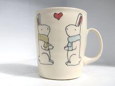 Warm bunnies mug