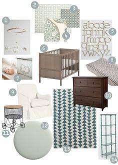sweet abode: Neutral Nursery Ideas