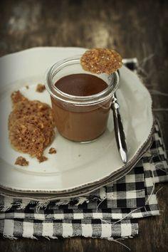Petit de chocolate casero