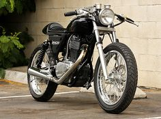 Suzuki S40 Cafe Racer - Black by Ryca Motors Custom Kits - $2,600 per kit