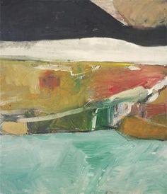 "richard diebenkorn the berkeley years   Richard Diebenkorn.""Berkeley Landscape"" 1954 Oil on Canvas. 50 x 98 in ..."