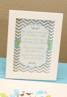 """Photo 4 of 31: Lime Green & Aqua Blue Necktie Little Man Shower / Baby Shower/Sip & See """"A Baby Shower Fit for a Little Gentleman""""   Catch My Party"""