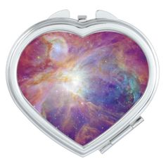 A Photo compact mirror from Zazzle! Orion Nebula, Andromeda Galaxy, Whirlpool Galaxy, Compact Mirror, Everyday Objects, Makeup Tools, Astronomy, Gifts For Women, Instagram