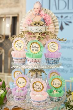 Marie Antoinette High Tea Party | The Vintage Table, Perth