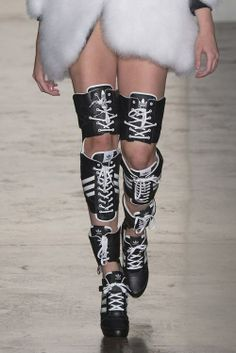 competitive price 0779c a87f2 SNAEKERS ✝☯☆☮ Long Boots Adidas by Jeremy Scott Jeremy