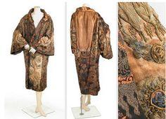 paquin Lavish Embroidered Opera Coat