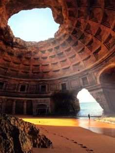 Temple of Lysistrata in Greece