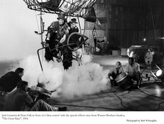 """Great Race, The"" Jack Lemmon, Peter Falk Photo taken in 1964 / Warner Bros. Blake Edwards, Peter Falk, Jack Lemmon, The Great Race, Warner Bros, Funny People, Cinematography, Good Movies, Behind The Scenes"