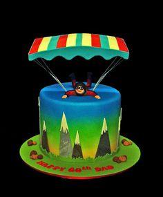 Base-Jumper's 60th Birthday Cake