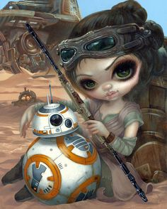 Jasmine Becket-Griffith @ Disney Marketplace Co-Op - Beautiful Bizarre Magazine