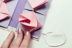 Origami Chinese Thread Book Video Tutorial, Learn how to make a Chinese Thread Book using 3 origami models, this is such a cute paper project, you can use it to organise sewing threads or as a gift.  #book #chinese