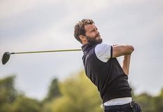May 18, 2018   Jamie at the Mike Tindal Celebrity Golf Charity Day #jamiedornan