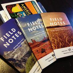 """NOTE TO SELF: A reminder to not only enjoy life's moments but plan for them and doccument them in little notebooks.    """"Field Notes brand notebooks have a special place in C.C. Chapmans life."""""""