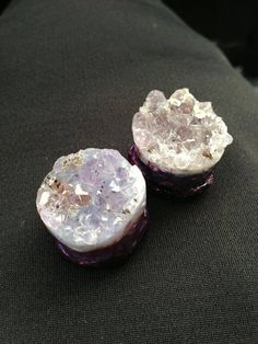 Amethyst gauges. Yes please.
