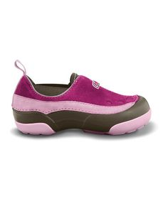 Save Now on this Berry & Bubble Gum Dawson Slip-On Shoe by Crocs on #zulily today!
