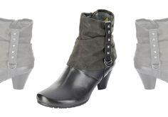 Ich liebe diese Schuhe! Man kann die Leggins in den Schaft stecken und hat schon den perfekten Layering Look – und das ganz ohne Aufwand. Givenchy hat es auf die Spitze getrieben und lässt nur die Schuhspitze aus der zusätzlichen Schicht Leder herausblinzeln. Marc, Damen Stiefeletten – Melena 1.442.18-03 – anthrazit; Jetzt in 360° Ansicht, nur auf PLAZA51!