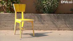 Costruire una sedia da un'unico pannello di legno