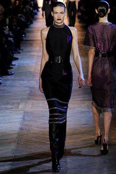 Yves Saint Laurent Fall 2012 Gown