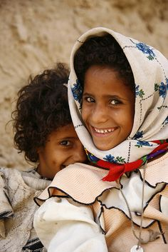 Girls laughing - Yemen - Explore the World with Travel Nerd Nici, one Country at a Time. http://TravelNerdNici.com