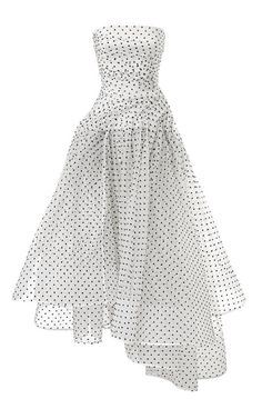 Don't know about the assymmetry and the hip bunching, but polka dots are cute. Prediction Party Dress by Maticevski for Preorder on Moda Operandi Pretty Dresses, Beautiful Dresses, Looks Chic, Dress Up, Dress Night, Dress Prom, Dot Dress, Dress Wedding, Bridesmaid Dress