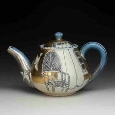 Ceramic Teapots, Porcelain Ceramics, Ceramic Pottery, Ceramic Art, Cute Teapot, Red Lodge, Teapots And Cups, Ancient China, Chocolate Pots