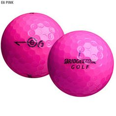 Bridgestone pinkki e6 golfpallo