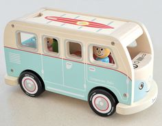 Colin's camper van by Jamm Toys, as featured on Bobby Rabbit