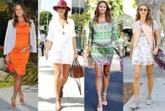 One Mama, Four Looks: Stacy Keibler's Maternity Style | The Baby Post