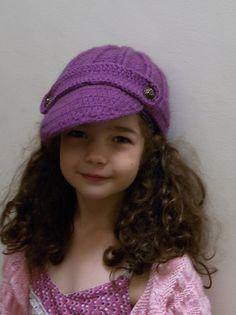 Ravelry: Marya61's Purrfect Purrple Hat