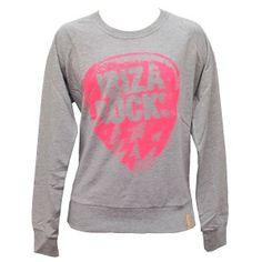 Ibiza Rocks Sweatshirts - Plectrum Sweater - Pink http://www.lostinsummer.com/en/mens-hoodies-sweatshirts/614-ibiza-rocks-plectrum-sweater.html