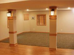 SUPPORT IDEAS for basement!