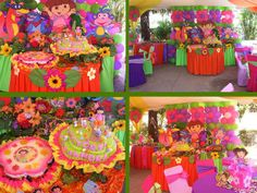 My baby want this Dora the Explorer party decorations!
