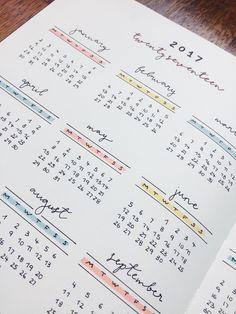 year calendar nujo