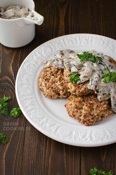 hreczniaki - kotlety z kaszy gryczanej i sera