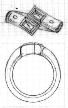 Technical Jewelry Sketches on Behance