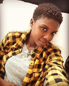 IG: authentically.b AuthenticallyB.com Big chop Twa Natural hair Short natural hair Tapered fro tapered haircut