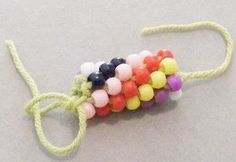 Bead Crochet Rope Jewelry Making Instructions