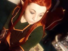 """I do not think that you would allow your son to pledge himself to a lowly Silvan elf."" #tauriel #taurielcosplay #taurielmakeup #evangelinelilly #elf #elves #elvish #elven #silvanelf #mirkwood #captainoftheguard #selca #cosplay #cosplayer #cosplayers #cosplaying #cosplaymakeup #thehobbit #thranduil #thehobbitcosplay #thehobbittauriel #thedesolationofsmaug #thebattleofthefivearmies #thehobbitthedesolationofsmaug #thehobbitthebattleofthefivearmies #onelastime #makeup #legolas #jrrtolkien…"