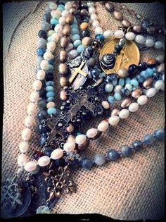 Paula Gerber Designs.  Www.etsy.com Vintage Custom Handmade Jewelry
