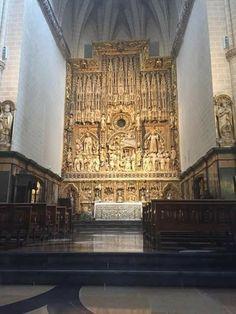 Retablo Altar mayor de la Catedral de La Seo Zaragoza
