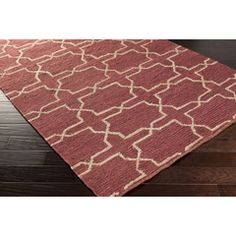 Pantone Color of the Year 2014 Marsala Design Board CAY-7001 - Surya | Rugs, Pillows, Wall Decor, Lighting, Accent Furniture, Throws