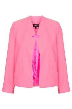 The perfect blazer. Topshop Crepe Notch Front Jacket