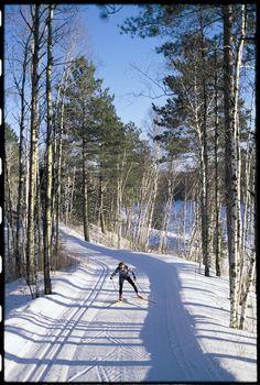 Cross Country Skiing at #GiantsRidge #ONLYinMN