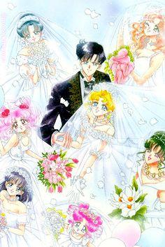 sailor moon's Wedding!