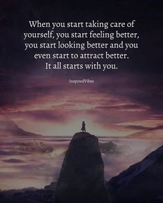 It all starts with you..