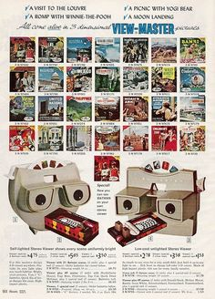 View-Master in the 1966 Sears Christmas catalogue.  Save your memories http://www.saveeverystep.com